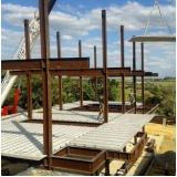 casa em estrutura metálica preço Mairinque