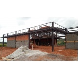 casa em estrutura metálica Itu