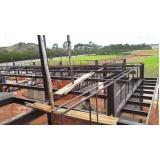cobertura em estrutura metálica preço Salto de Pirapora