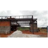 estrutura metálica e alvenaria Porto Feliz