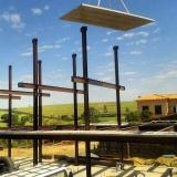 estrutura metálica para laje preço Cotia