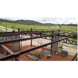 estrutura metálica para telhado Cotia