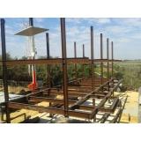 orçamento de estrutura metálica para laje Salto de Pirapora
