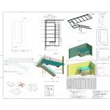 projetos de estrutura metálica Alphaville