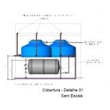 projeto hidráulico de água fria