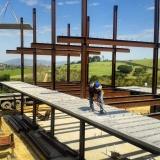quanto custa estrutura metálica para laje Pilar do Sul