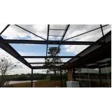 quanto custa estrutura metálica para telhado Salto