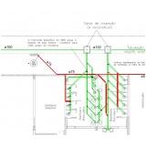 quanto custa projeto hidráulico banheiro coletivo Itapetininga